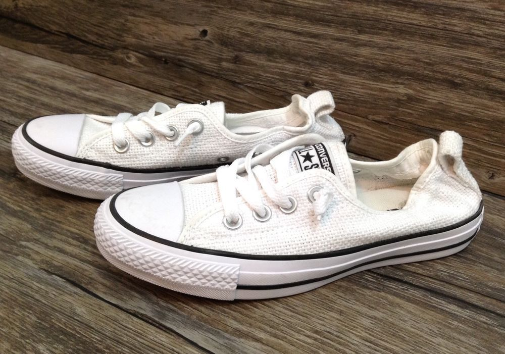 a8386f242909 Converse Chuck Taylor Shoreline Slip On Weaved Canvas Shoe Womens Sz 6 NEW     Converse  Slipon