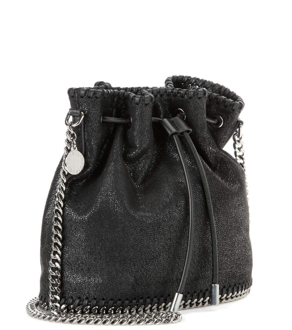 Stella McCartney Falabella Shaggy Deer black bucket bag   Bags ... db404ac507