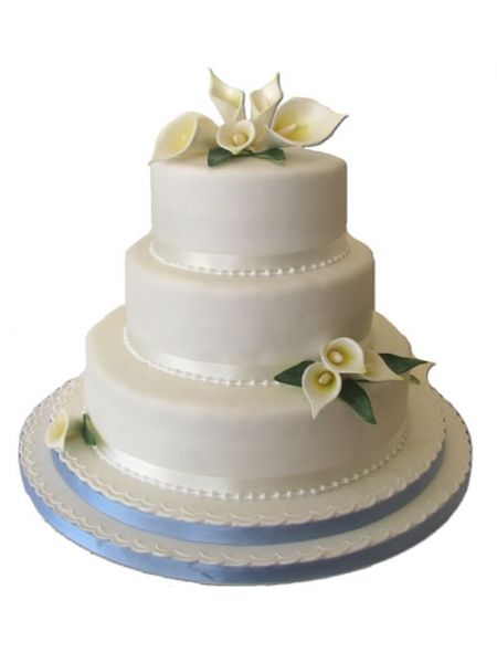 New Calla Lily Wedding Cakes With Calla Lily Classic Wedding Cake - Calla Lilly Wedding Cake