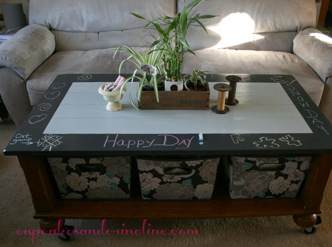 Chalkboard Coffee Table Pinterest Chalkboard Coffee Tables - Chalkboard paint coffee table