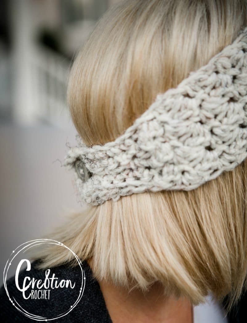 Winter Skies Free Ear Warmer Crochet Pattern Craft Ideas Crochet