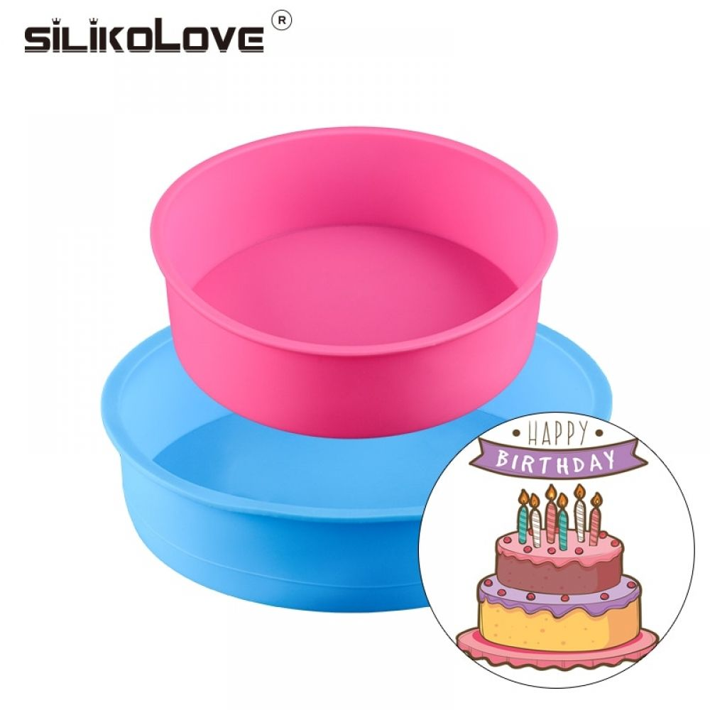 Bakeware Set For Birthday Party Cake Maker Silicone Molds Baking