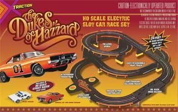 dukes of hazzard slot car track