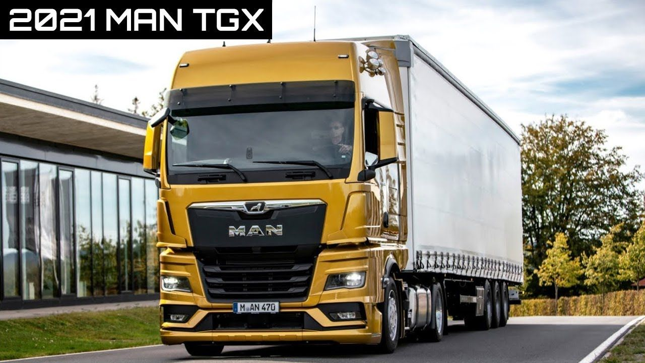 2021 Man Tgx Truck Interior Exterior Driving In 2020