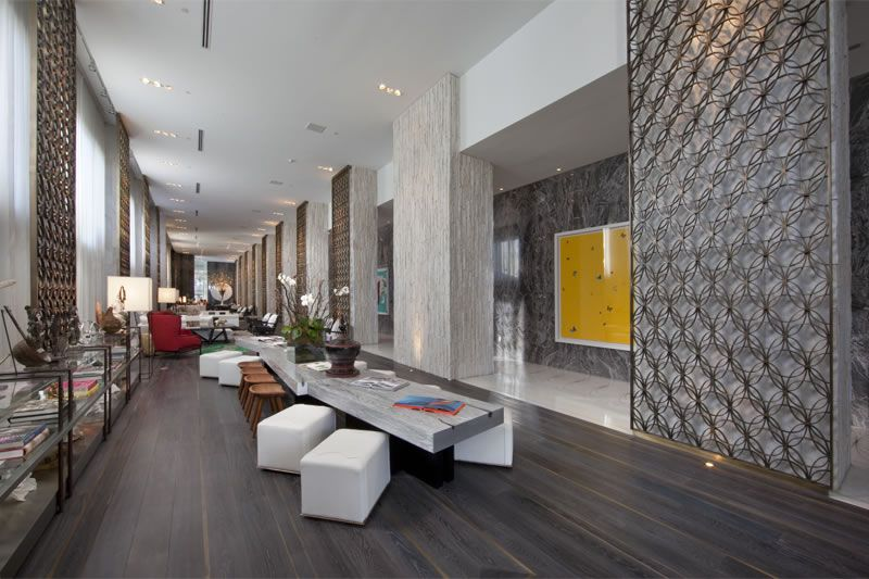 W Hotel South Beach Interior Design Miami Beach, FL   New York Focus  Architectural Photography