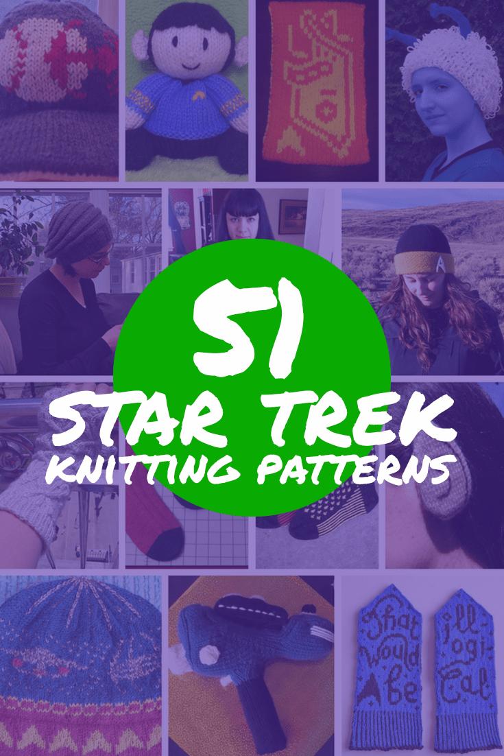 51 Star Trek Knitting Patterns | Fandom Crafts | Pinterest | Star ...