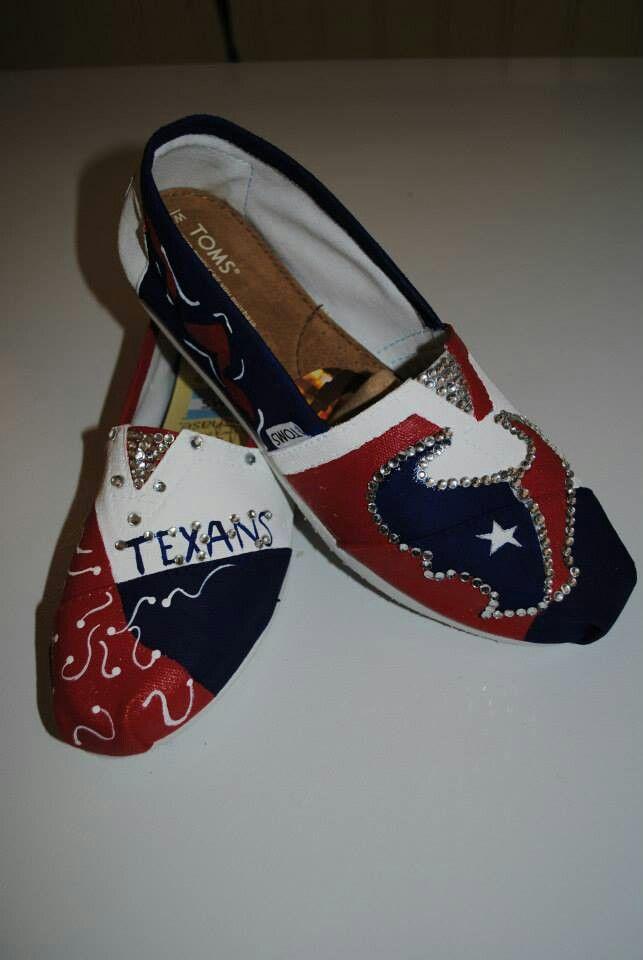 647b057d Texans Toms   Style - Shoes   Houston texans football, Texans ...