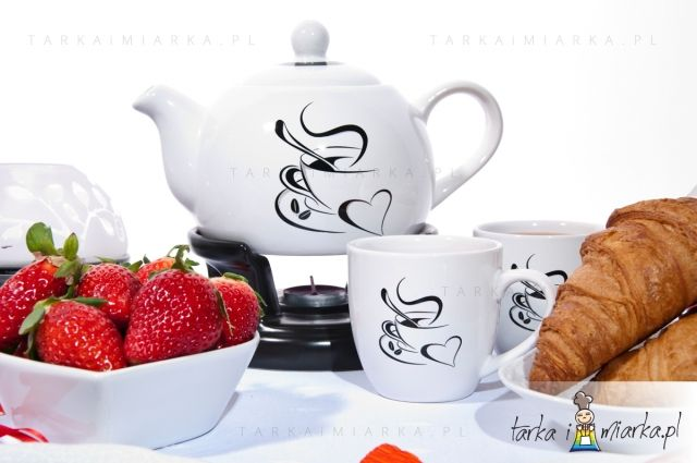 Dzbanek Z Podgrzewaczem 1l 2 Kubki Serce Xy160623 Sugar Bowl Set Tea Pots Bowl Set