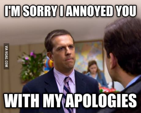 When People Complain That Canadians Say Sorry Too Much Social Work Humor Work Humor Work Quotes Funny