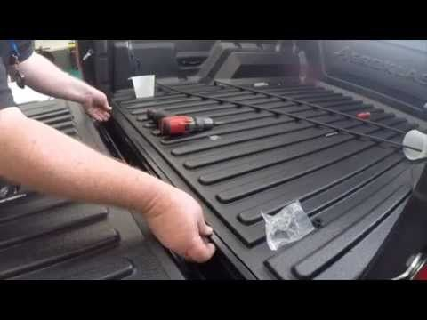 How To Install An Aeroklas Bed Liner To A Ford Ranger