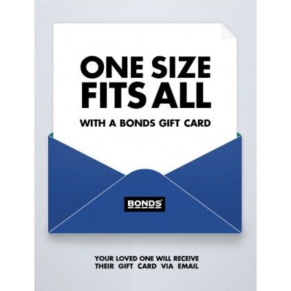 Bonds Gift Card E Gift Card Pinterest Gift And Template