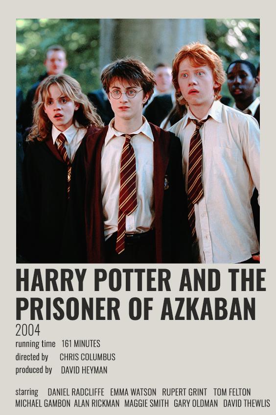 Harry Potter And The Prisoner Of Azkaban Polaroid Poster In 2021 Harry Potter Poster Harry Potter Film Prisoner Of Azkaban