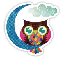 My Crescent Owl Sticker