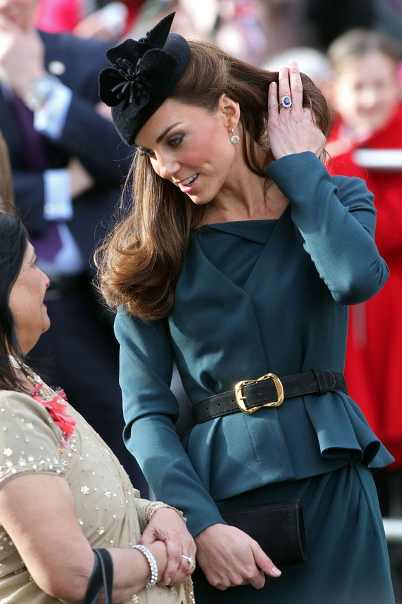Diamond Jubilee; Kate Middleton  #Fascinator #Jubilee #Kate