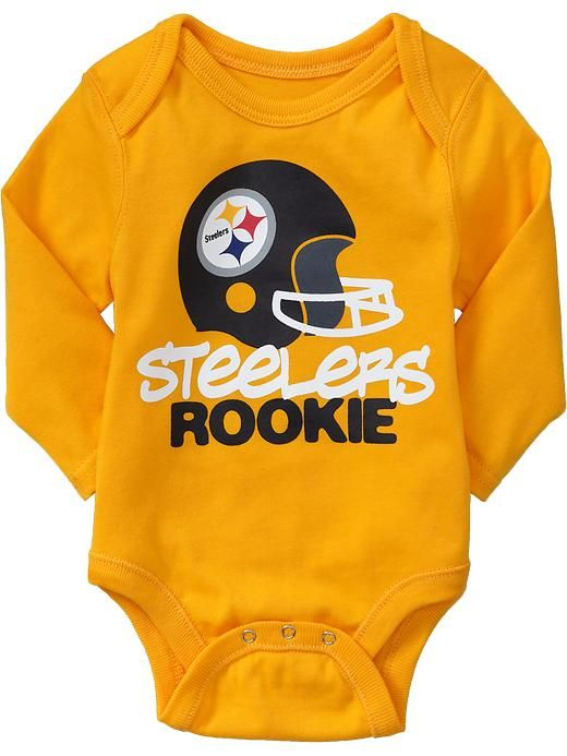 Old Navy Pittsburgh  Steelers Baby Bodysuit.  7637cdd98