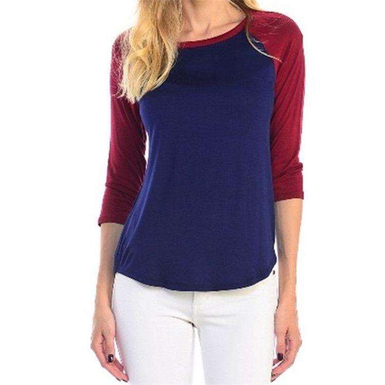 Women's Baseball Style T Shirt