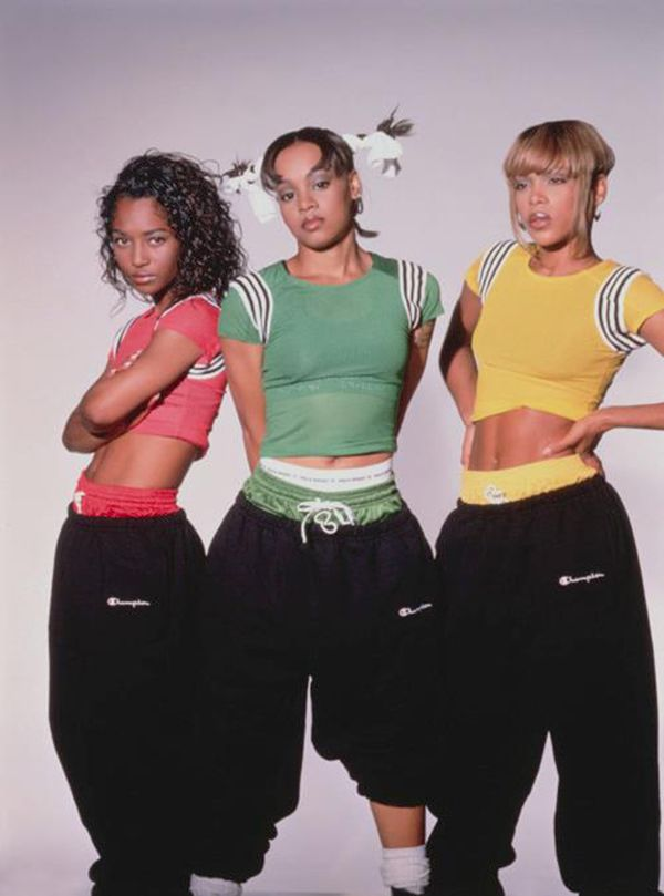 What clothes from the 90s were also sexy?