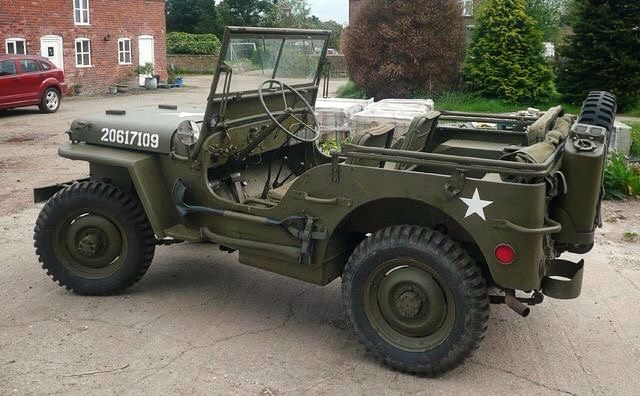 From The Battlefields Of Europe And Africa The American Jeep Is A