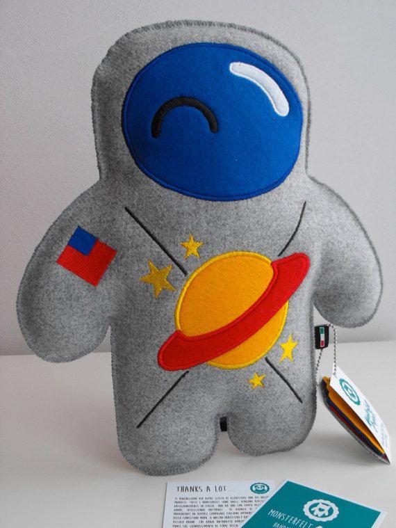 Monsterfelt Project Astronaut Toy Stuffed Toy Stuffed Pillow