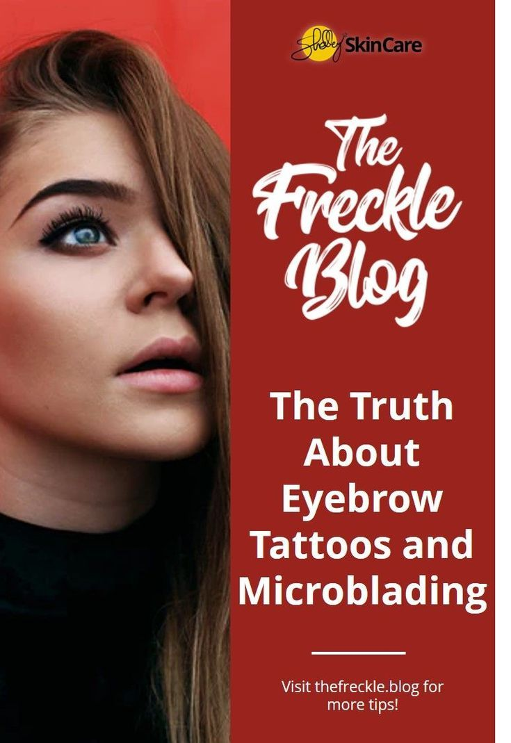 Learn more about Eyebrow Tattoos and Microblading at TheFreckle.Blog!  Microblad...,  #eyebro... #perfecteyebrows