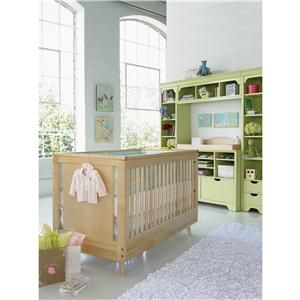 A classic color creates the perfect balance with this updated crib design.  The Mix Collection (51) by Young America - Belfort Furniture