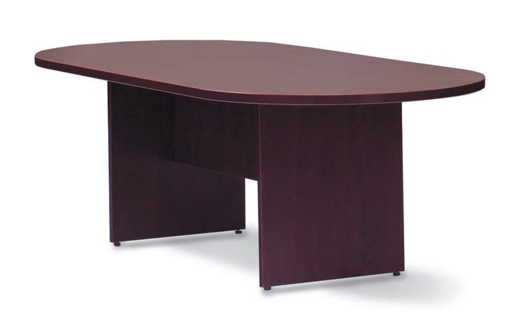 6' Racetrack Conference Table American Mahogany by Offices to Go - 1-800-460-0858 - Free Shipping - Office Furniture 2go.com
