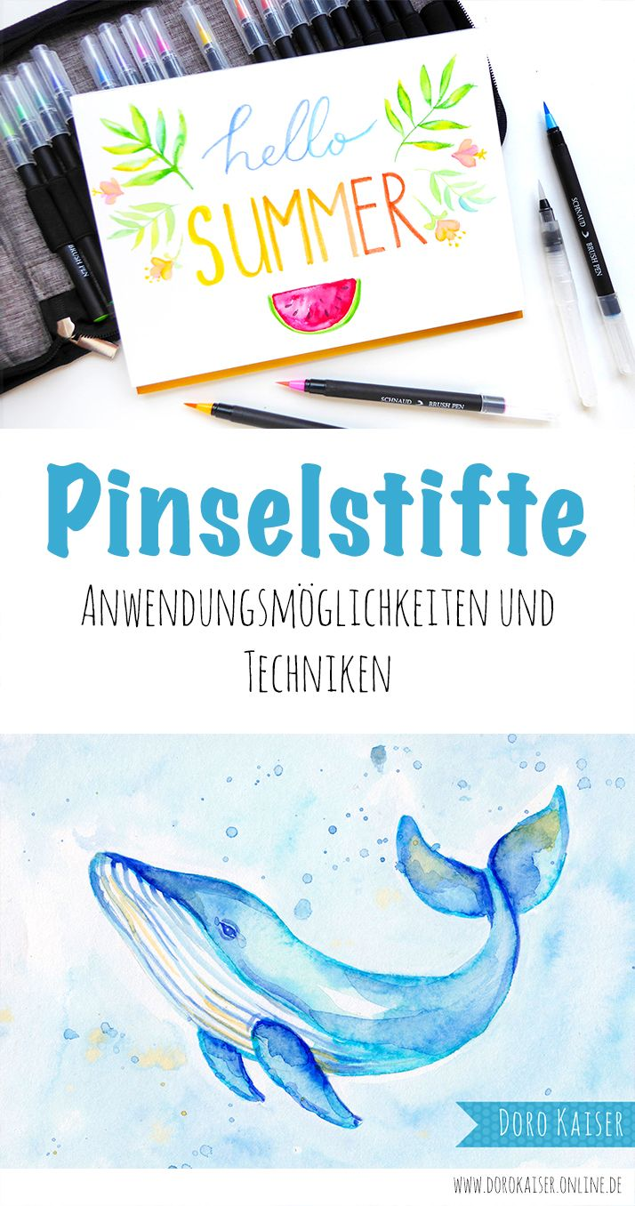 Gastbeitrag Von Schnaud De Pinselstifte Brush Pen