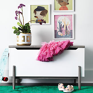 Kids Toy Boxes: Making Cleanup Fun | Crate and Barrel