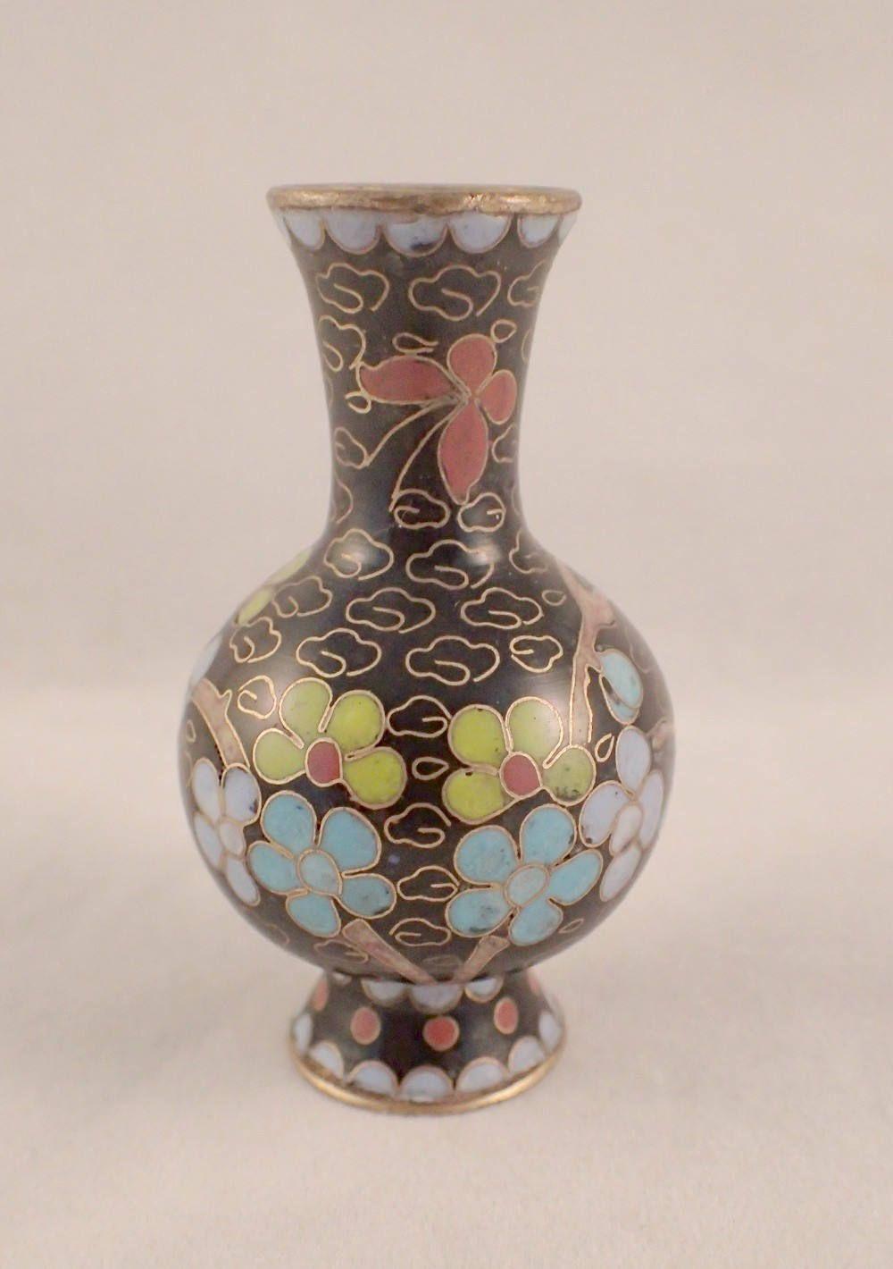 Cloisonne vase etsy miniature cloisonne vase tall by felthamantiques on etsy reviewsmspy