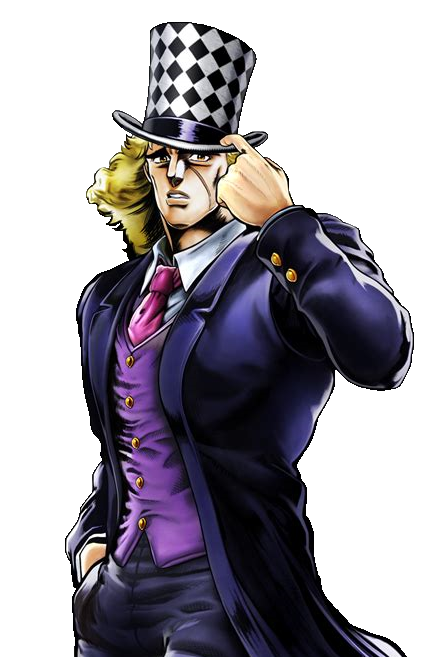 Robert E.O. Speedwagon | Anime - JoJo's Bizarre Adventure | Birthday -  October 16 | Jojo bizarre, Jojo bizzare adventure, Jojo