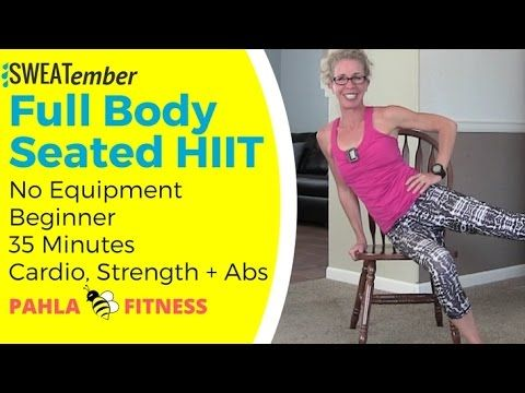 hurt foot 30 minute total body workout stay active and