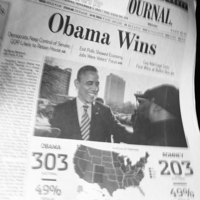 wall street journal cover vote obama election2012 on wallstreetjournal id=55651