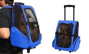 Rolling Backpack Pet Carrier   Pets   Pinterest   Rolling backpack ...