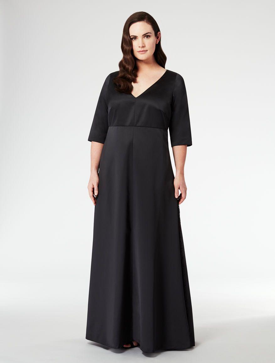 0ddd5b92ac8 Dresses Fall Winter 2014 2015 Marina Rinaldi | black ensemble ...