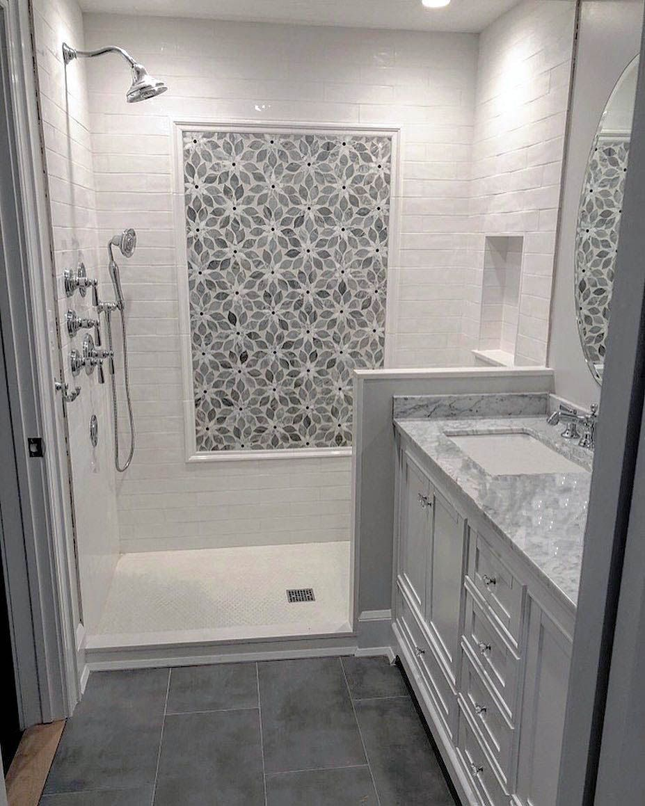 Great Tile Ideas For Small Bathrooms Bathroom Remodel Master