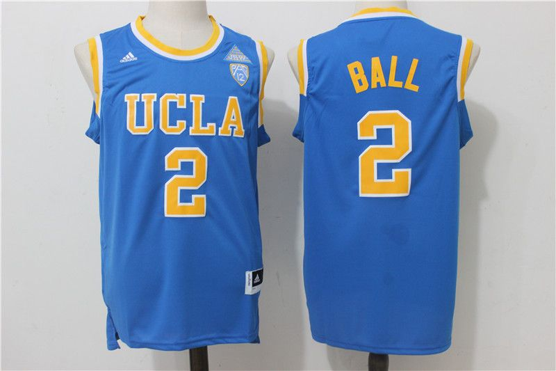 mens 2017 ucla 2 bruins lonzo ball college basketball jersey