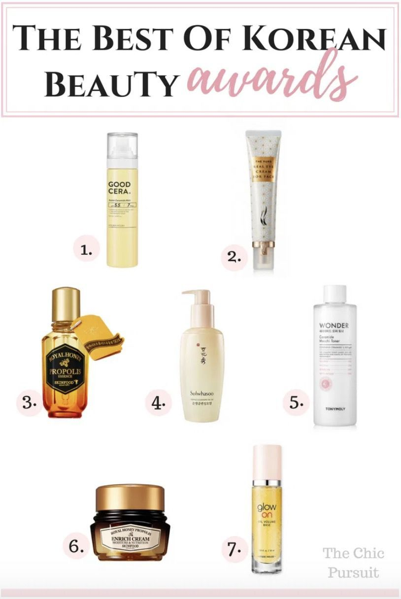 Best Of K Beauty Awards 2020 Korean Skin Care Brands Ranking Korean Beauty Anti Aging Skin Products Skin Care Brands