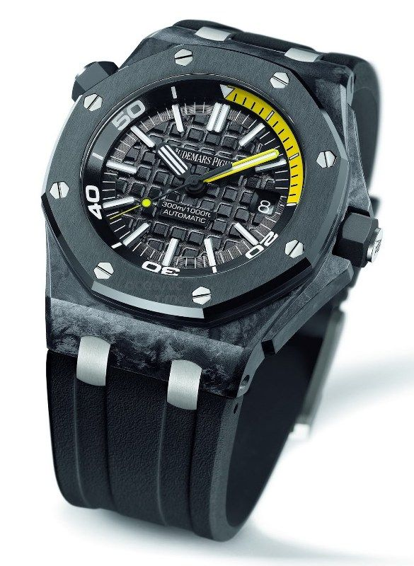 5d1f927978e Audemars Piguet Royal Oak Offshore Diver Forged Carbon - Monochrome Watches