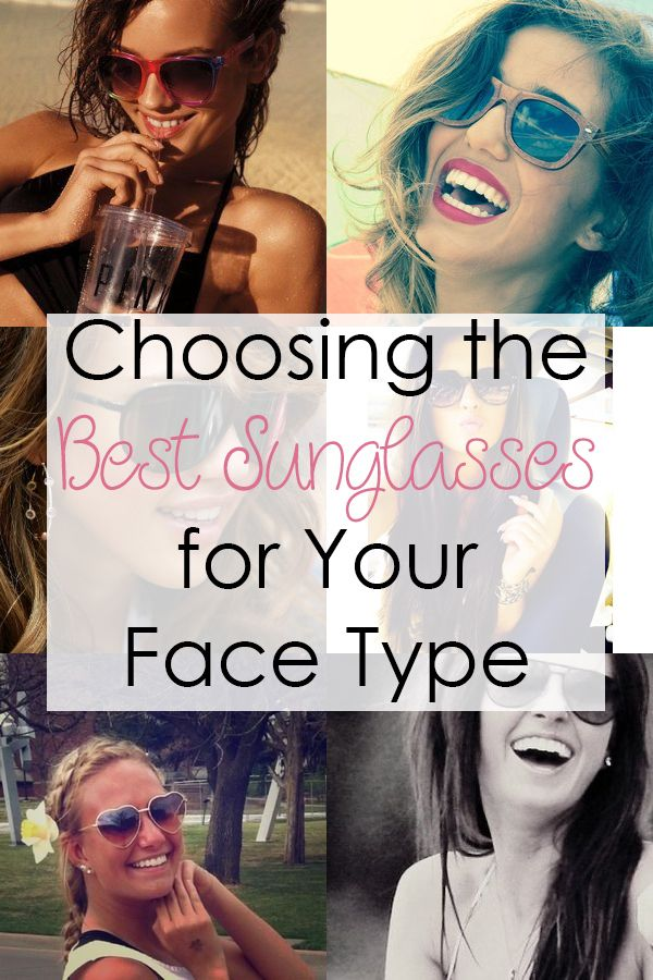 choosing the best sunglasses for your face type face ray ban rh pinterest com