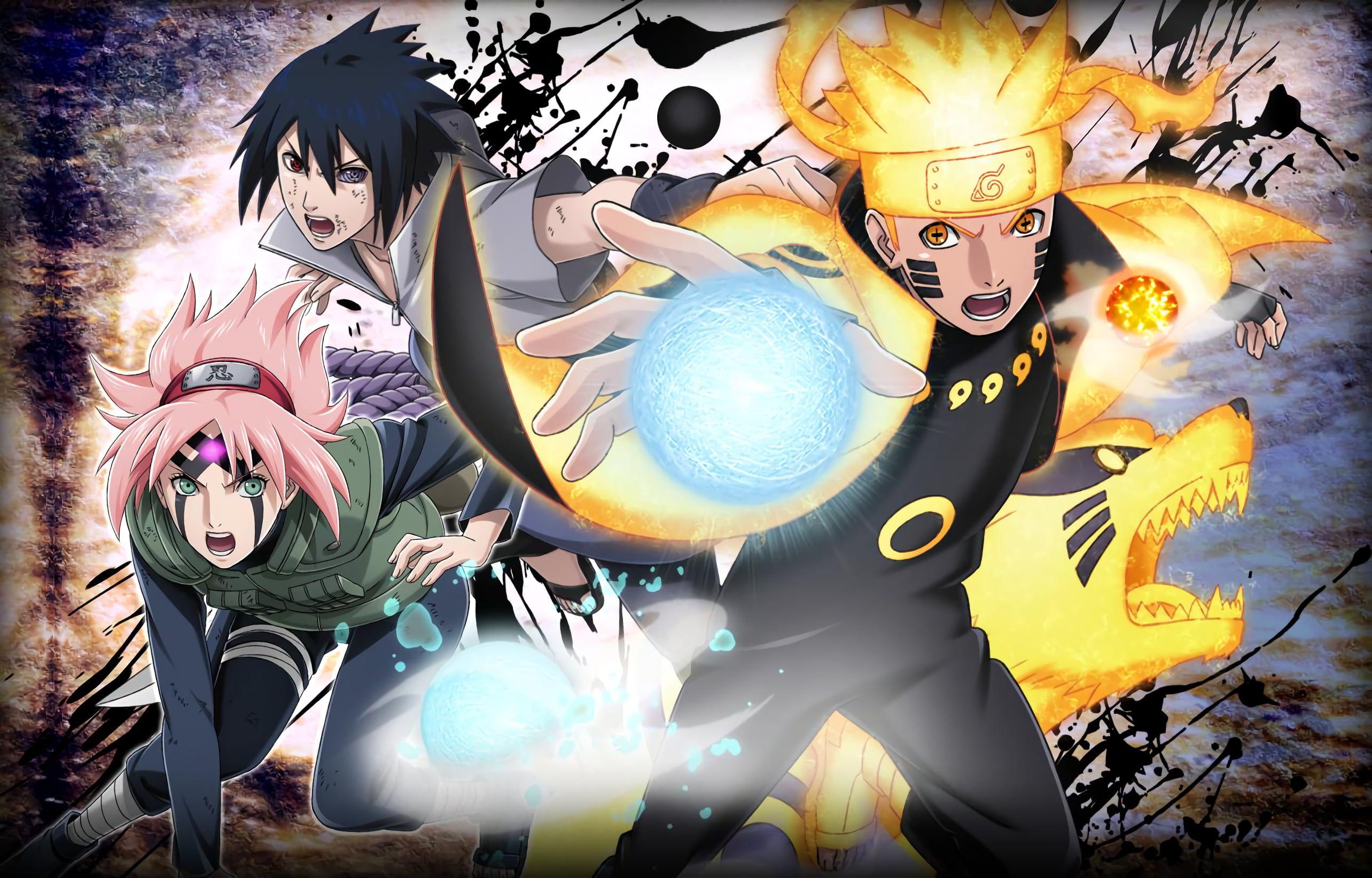 Naruto Naruto Uzumaki Rasengan Naruto Sakura Haruno Sasuke Uchiha 2k Wallpaper Hdwallpaper Naruto E Sasuke Desenho Animes Wallpapers Personagens De Anime