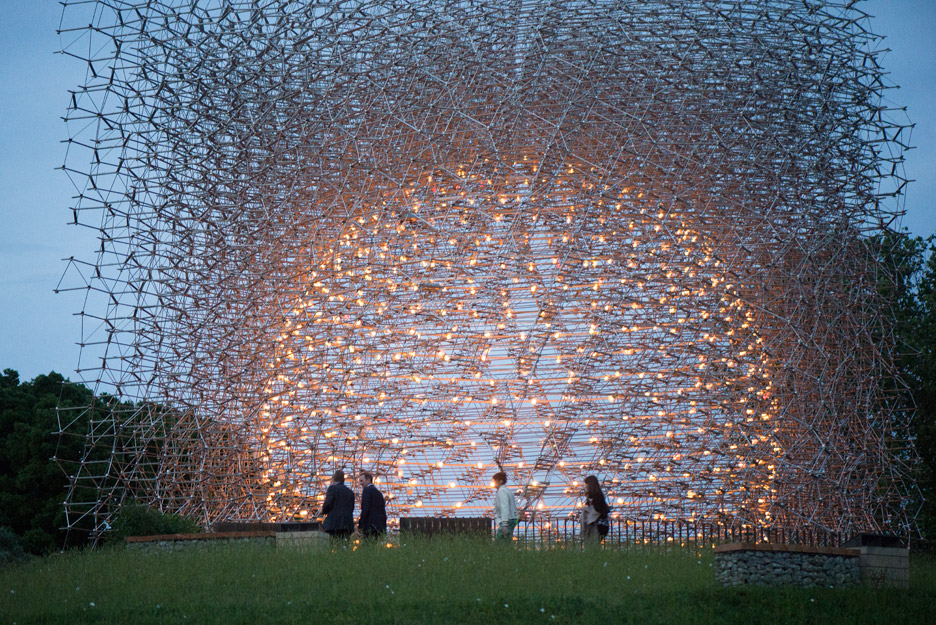 Wolfgang Buttress Expo Pavilion Relocates To Kew Gardens With Images Kew Gardens Kew Kew Gardens London