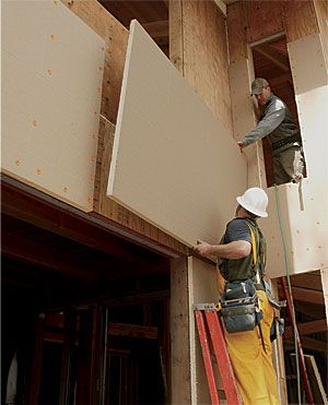 A Better Wall With Exterior Foam Rigid Insulation And