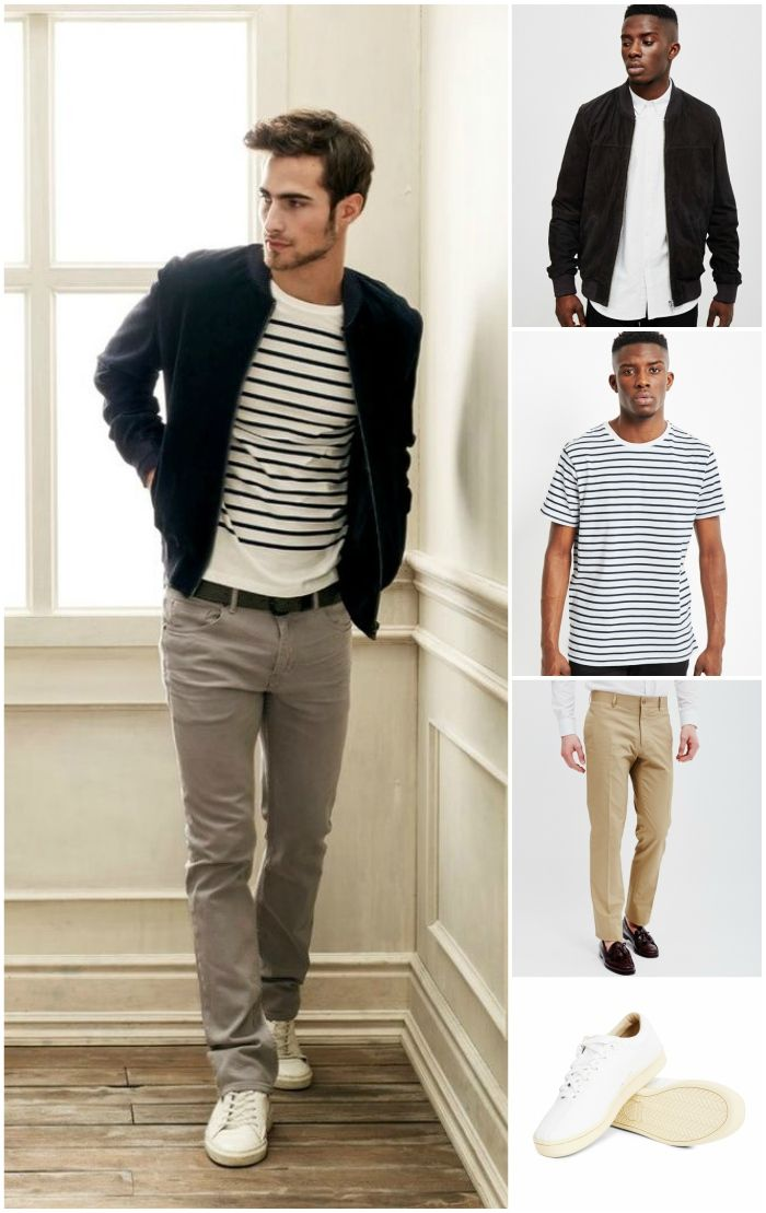6353ffb42da what shoes to wear with chinos trainers casual look