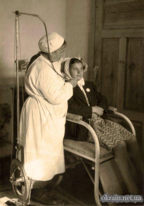В кабинете зубного врача Кременчуг 1950 год фото номер 690 ...