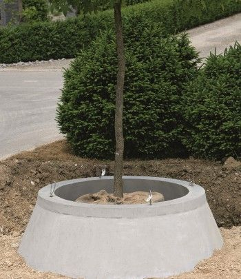 Wurzelglocke Baumschutz - Beton Christen AG | Gartenideen ...