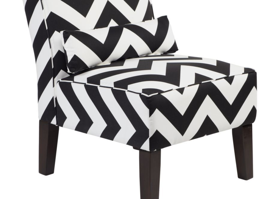 Incredible Z Gallerie Chevron Chair My Style My Home Accent Chairs Theyellowbook Wood Chair Design Ideas Theyellowbookinfo