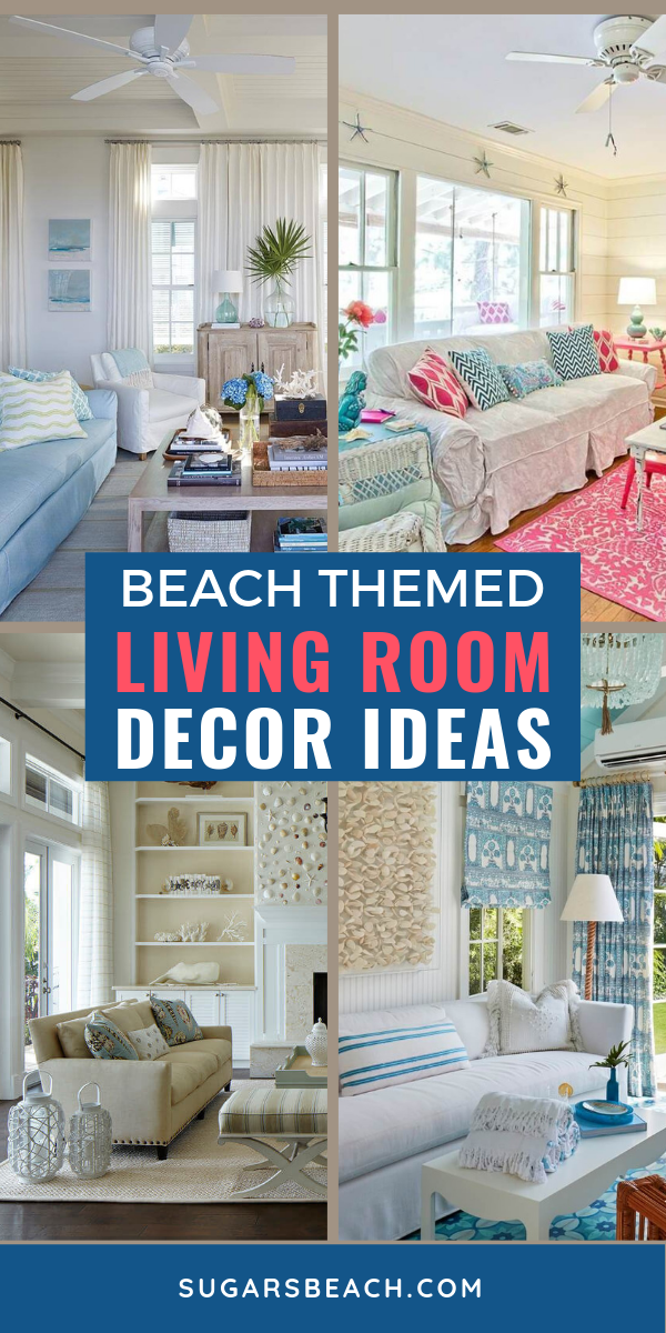 Beach Themed Living Rooms images