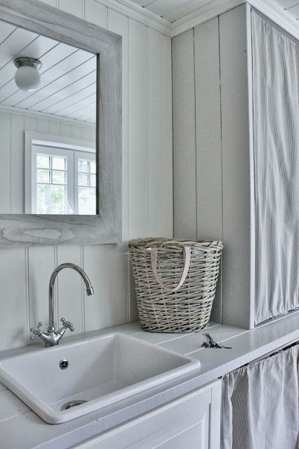 Mias Interiør Blog, simple cottage bathoom