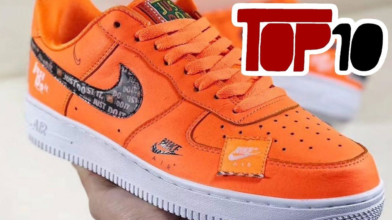 Top 10 Nike Air Force 1 Shoes Of 2018envoi GameSeat