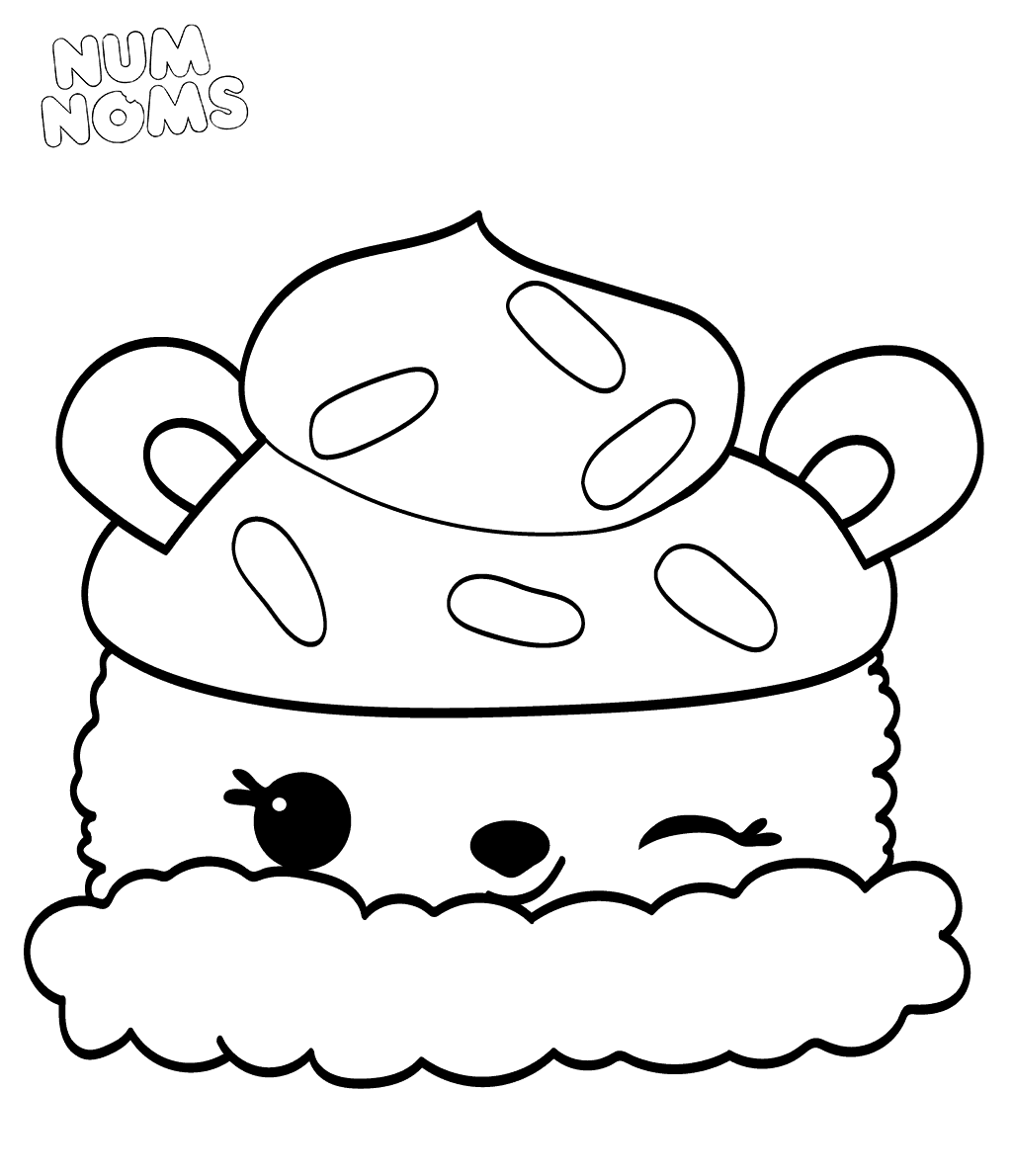 Coloring Pages Of Num Noms Season 2 Parker Peach Coloring Pages Cute Coloring Pages Cute Easy Drawings